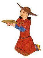 man_carrying_platter