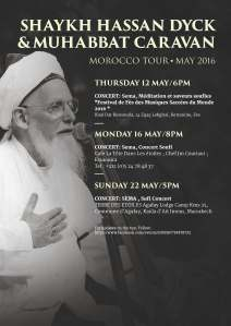 SHAYKH HASSAN MORROCO TOUR POSTER