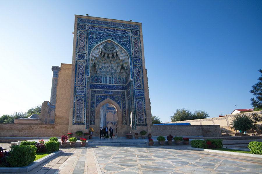 Deze afbeelding heeft een leeg alt-atribuut; de bestandsnaam is gur-emir-mausoleum4.jpg